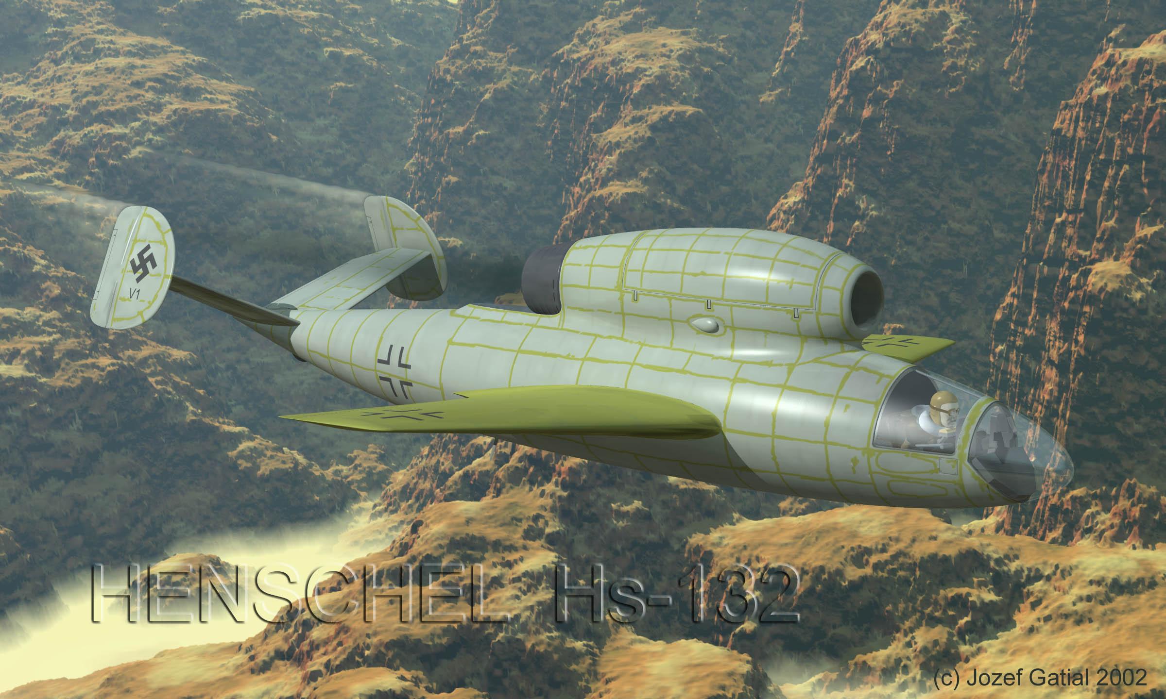 Henschel Hs-132 Dive Bomber - Page 3 - Aircraft - War ... Henschel Hs 132